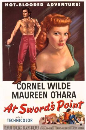 At Sword's Point 1952 DVD - Cornel Wilde / Maureen O'Hara